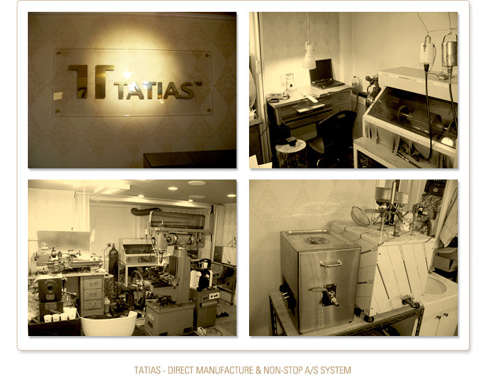 TATIAS Direct Manufacture & Non-stop A/S System